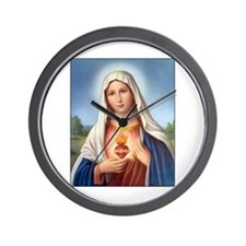 Immaculate Heart of Mary Wall Clock