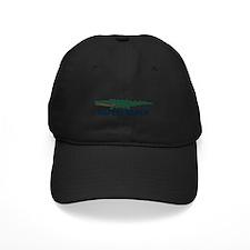 Naples Beach - Alligator Design. Baseball Hat