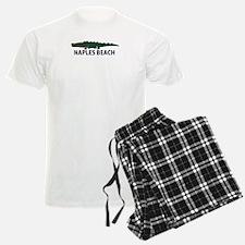Naples Beach - Alligator Design. Pajamas