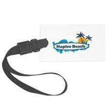 Naples Beach - Surf Design. Luggage Tag