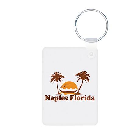 Naples FL - Palm Trees Design. Aluminum Photo Keyc