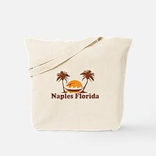 Naples FL - Palm Trees Design. Tote Bag