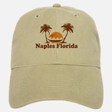 Naples FL - Palm Trees Design. Baseball Baseball Cap