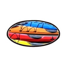 Colorful Kayak Patches