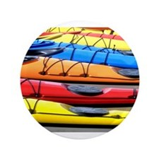 """Colorful Kayak 3.5"""" Button (100 pack)"""