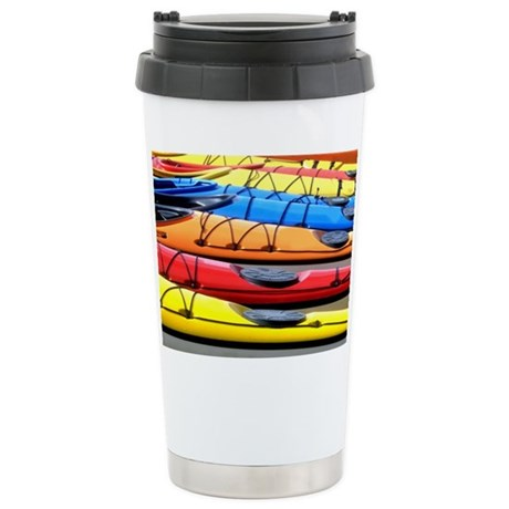 Colorful Kayak Travel Mug