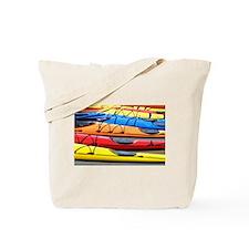 Colorful Kayak Tote Bag