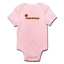 Naples FL - Beach Design. Infant Bodysuit