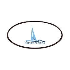 Naples Beach - Sailing Design. Patches