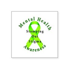 Stomping Out Stigma Sticker