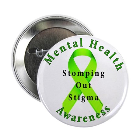 "Stomping Out Stigma 2.25"" Button"