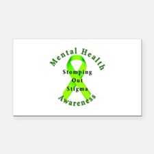 Stomping Out Stigma Rectangle Car Magnet