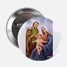 Jesus, Mary and Joseph Button