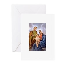 Jesus, Mary and Joseph Greeting Cards (Package of