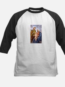 Jesus, Mary and Joseph Kids Baseball Jersey