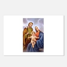 Jesus, Mary and Joseph Postcards (Package of 8)