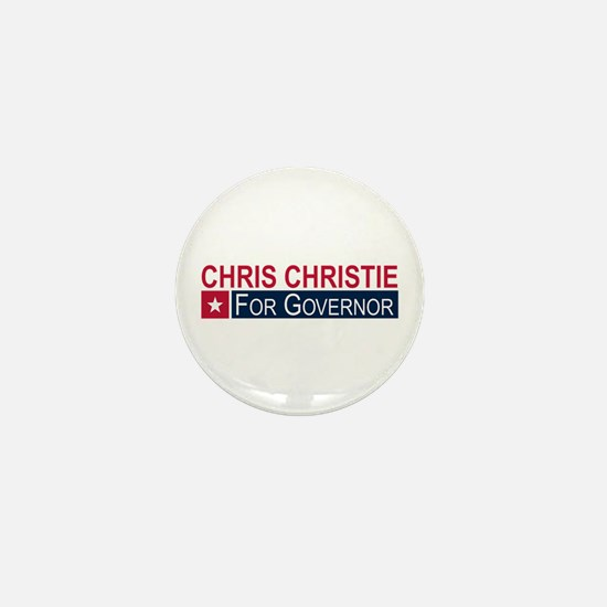 Elect Chris Christie Mini Button
