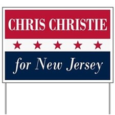 Chris Christie for NJ Yard Sign