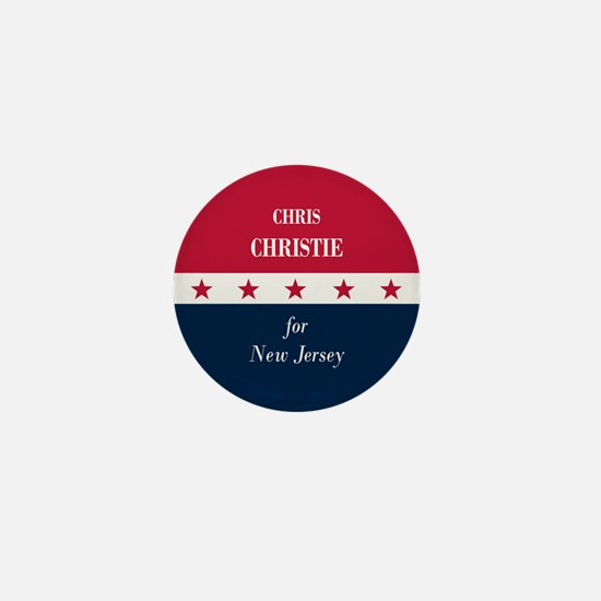 Chris Christie for NJ Mini Button