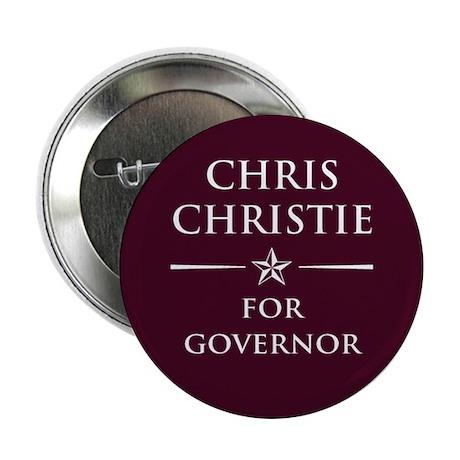 "Vote Chris Christie 2.25"" Button"