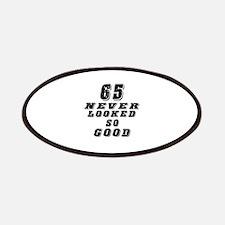 65 Birthday Designs Patches