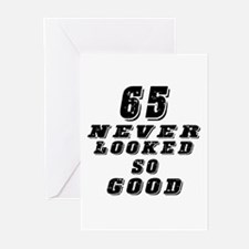65 Birthday Designs Greeting Cards (Pk of 20)
