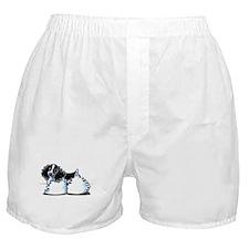 Parti Cocker Spaniel Boxer Shorts