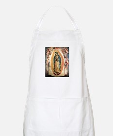 Our Lady Guadalupe with Angel BBQ Apron