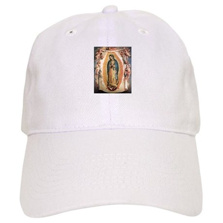 Our Lady Guadalupe with Angel Cap
