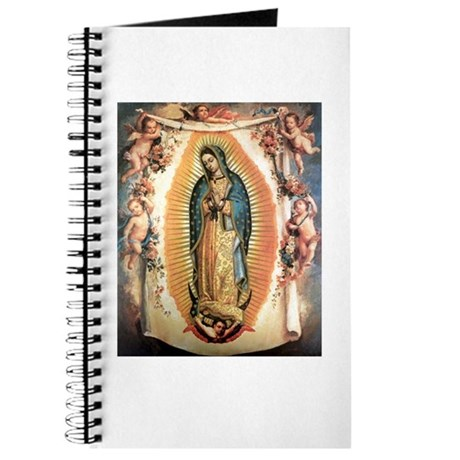 Our Lady Guadalupe with Angel Journal