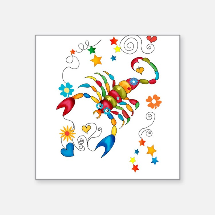 Horoscope Scorpio Zodiac Sign Sticker