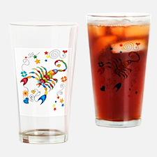 Horoscope Scorpio Zodiac Sign Drinking Glass