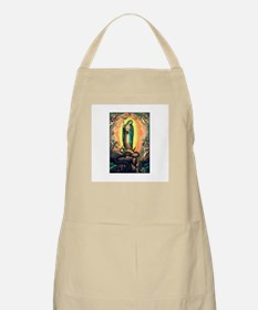 Our Lady Guadalupe Defending BBQ Apron