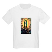 Our Lady Guadalupe Defending Kids T-Shirt