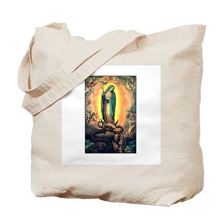 Our Lady Guadalupe Defending Tote Bag