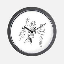 Triathlon Woman Wall Clock