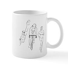 Triathlon Woman Mug