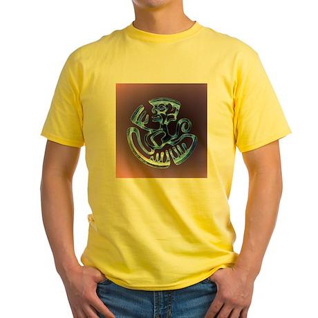Mexican Monkey Yellow T-Shirt