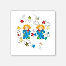 Gemini Twin Horoscope Sign Sticker
