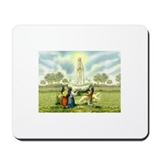 Our Lady of Fatima Mousepad