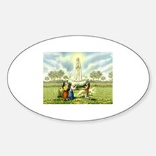Our Lady of Fatima Oval Decal