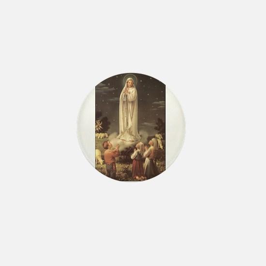 Our Lady of Fatima Mini Button