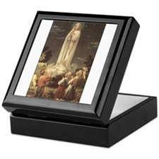 Our Lady of Fatima Keepsake Box