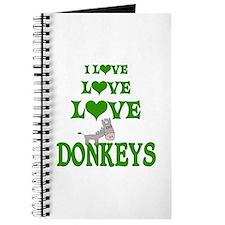 Love Love Donkeys Journal