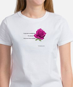 Cute Purple rose Tee