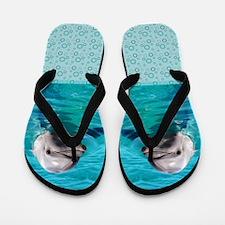 Dolphin Blue Water Flip Flops