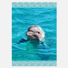 Dolphin Blue Water Invitations
