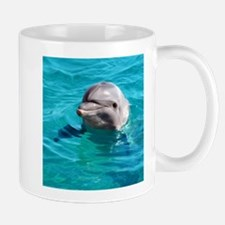 Dolphin Blue Water Mug