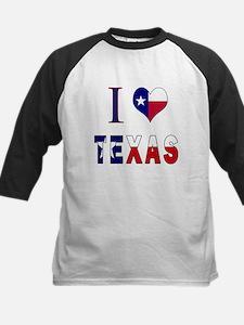 I (Heart) Love Texas Flag Tee