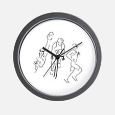 Triathlon Man Wall Clock